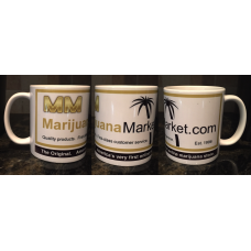 Marijuana Market™ Coffee Cup